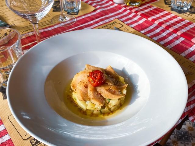 Café de la Place - Pernes  Filets de hareng à l'huile d'olive